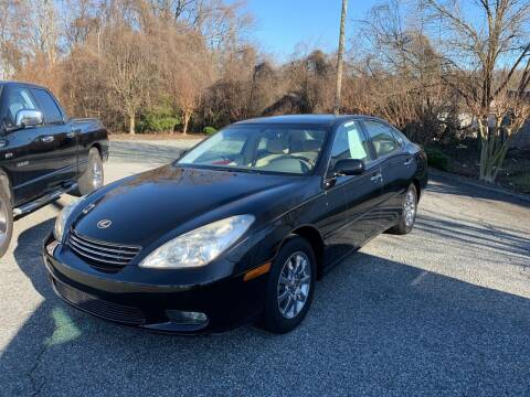 2002 Lexus ES 300 for sale at YOUR WAY AUTO SALES INC in Greensboro NC