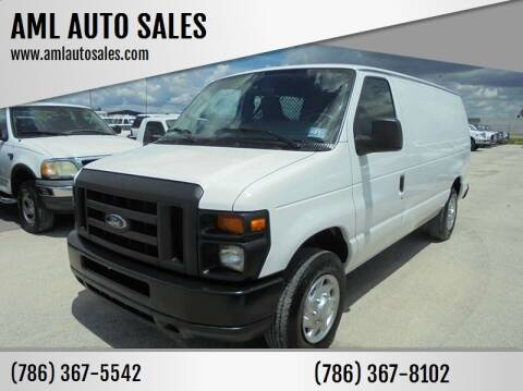 2011 Ford E-Series Cargo for sale at AML AUTO SALES - Cargo Vans in Opa-Locka FL