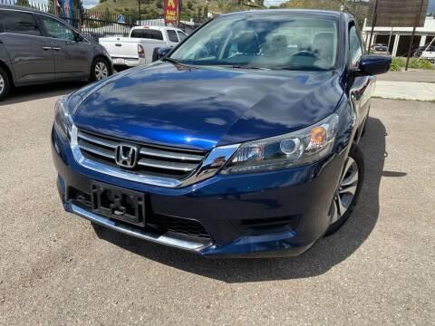 2014 Honda Accord for sale at Vtek Motorsports in El Cajon CA