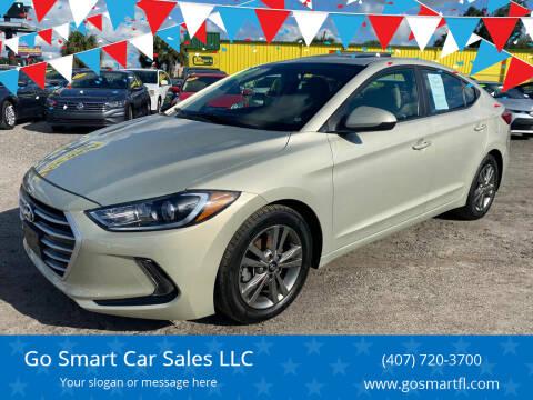 2017 Hyundai Elantra for sale at Go Smart Car Sales LLC in Winter Garden FL
