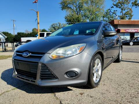 2014 Ford Focus for sale at Lamarina Auto Sales in Dearborn Heights MI