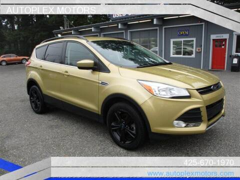 2014 Ford Escape for sale at Autoplex Motors in Lynnwood WA