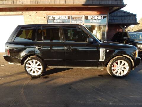 2007 Land Rover Range Rover for sale at AUTOWORKS OF OMAHA INC in Omaha NE