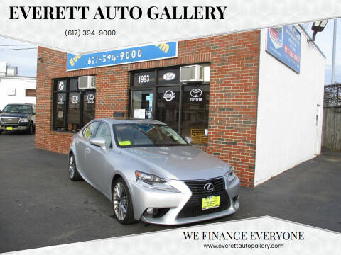 2014 Lexus IS 250 for sale at Everett Auto Gallery in Everett MA