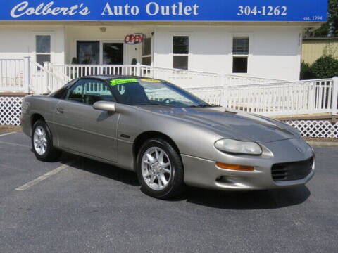 2000 Chevrolet Camaro for sale at Colbert's Auto Outlet in Hickory NC