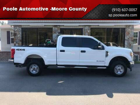 2019 Ford F-250 Super Duty for sale at Poole Automotive in Laurinburg NC