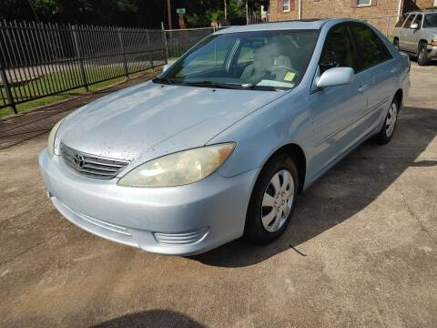 2005 Toyota Camry for sale at TR Motors in Opelika AL