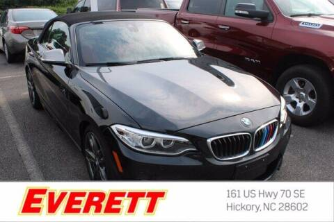 2017 BMW 2 Series for sale at Everett Chevrolet Buick GMC in Hickory NC