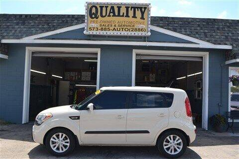 2012 Kia Soul for sale at Quality Pre-Owned Automotive in Cuba MO