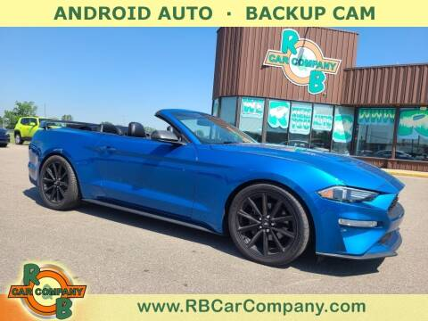 2019 Ford Mustang for sale at R & B Car Co in Warsaw IN