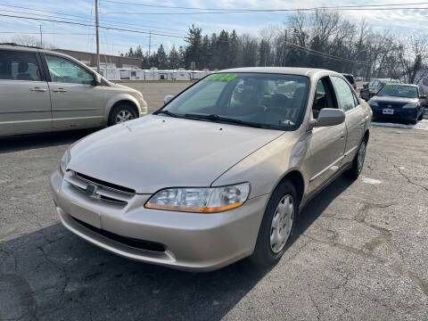 2000 Honda Accord for sale at ARG Auto Sales in Jackson MI