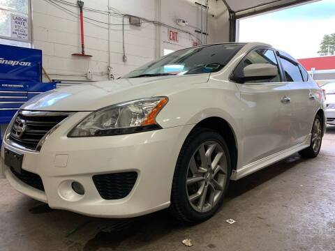 2013 Nissan Sentra for sale at Auto Warehouse in Poughkeepsie NY