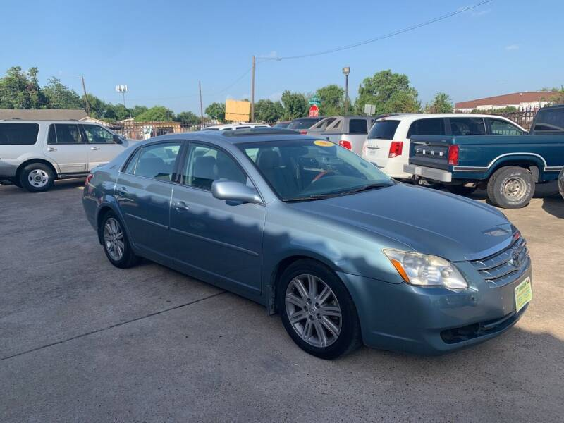 2007 Toyota Avalon for sale at JORGE'S MECHANIC SHOP & AUTO SALES in Houston TX
