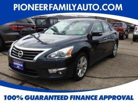 2013 Nissan Altima for sale at Pioneer Family auto in Marietta OH