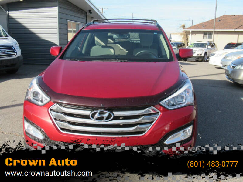 2015 Hyundai Santa Fe Sport for sale at Crown Auto in South Salt Lake City UT