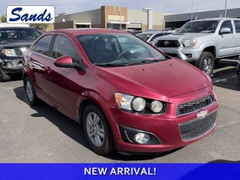 2014 Chevrolet Sonic for sale at Sands Chevrolet in Surprise AZ