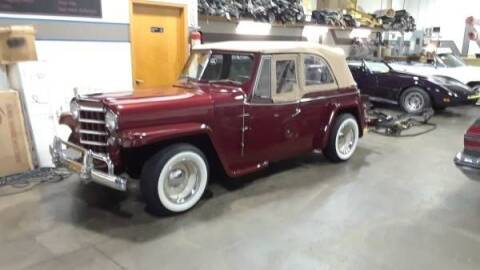 1950 Willys Overland for sale at Classic Car Deals in Cadillac MI