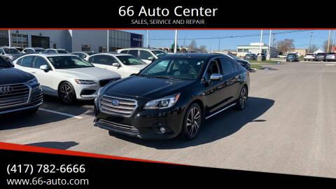 2017 Subaru Legacy for sale at 66 Auto Center in Joplin MO