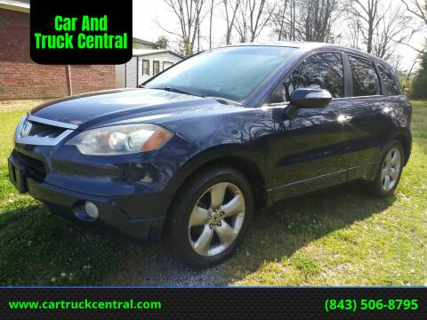 2007 Acura RDX for sale at Car And Truck Central in Dillon SC