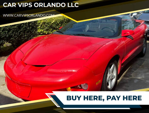 1998 Pontiac Firebird for sale at CAR VIPS ORLANDO LLC in Orlando FL