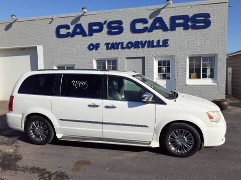 2011 Chrysler Town and Country for sale at Caps Cars Of Taylorville in Taylorville IL