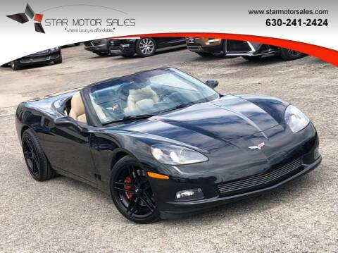 2006 Chevrolet Corvette for sale at Star Motor Sales in Downers Grove IL