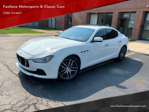 2016 Maserati Ghibli for sale at Fastlane Motorsports & Classic Cars in Addison IL