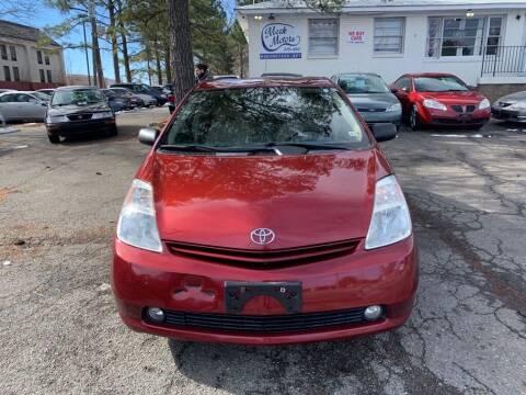 2005 Toyota Prius for sale at MEEK MOTORS in North Chesterfield VA