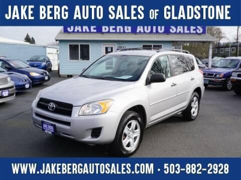 2011 Toyota RAV4 for sale at Jake Berg Auto Sales in Gladstone OR