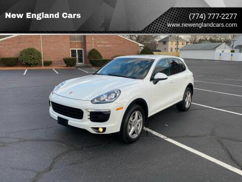 2015 Porsche Cayenne for sale at New England Cars in Attleboro MA