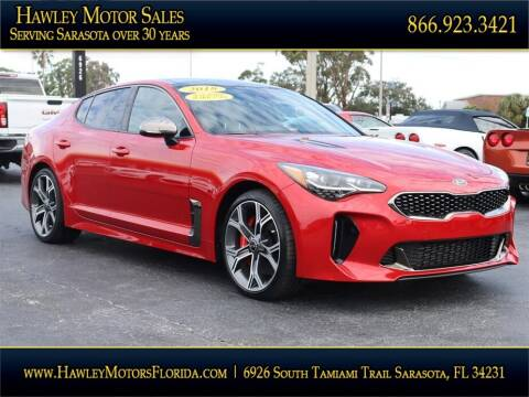 2018 Kia Stinger for sale at Hawley Motor Sales in Sarasota FL