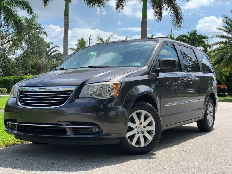 2015 Chrysler Town and Country for sale at HIGH PERFORMANCE MOTORS in Hollywood FL