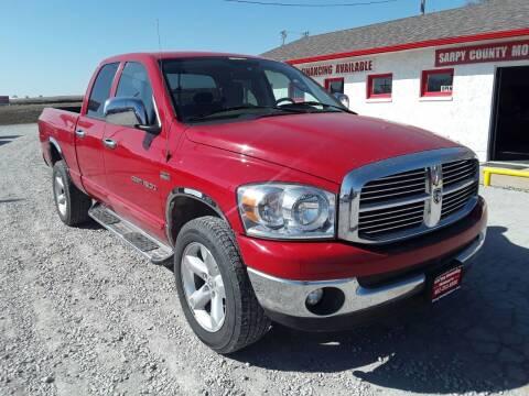 2007 Dodge Ram Pickup 1500 for sale at Sarpy County Motors in Springfield NE
