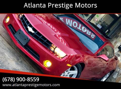 2012 Chevrolet Camaro for sale at Atlanta Prestige Motors in Decatur GA