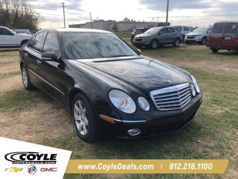 2008 Mercedes-Benz E-Class for sale at COYLE GM - COYLE NISSAN - New Inventory in Clarksville IN