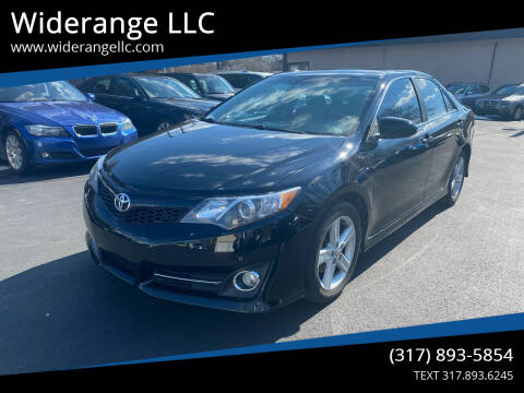 2012 Toyota Camry for sale at Widerange LLC in Greenwood IN