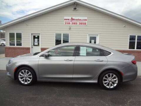 2015 Chrysler 200 for sale at GIBB'S 10 SALES LLC in New York Mills MN