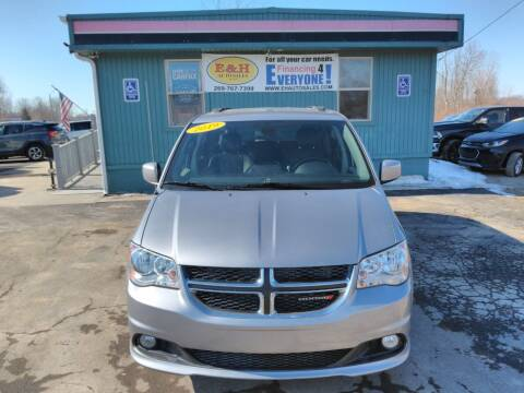 2019 Dodge Grand Caravan for sale at E & H Auto Sales in South Haven MI