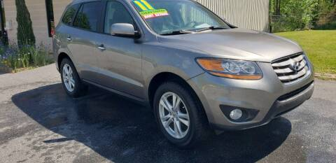 2011 Hyundai Santa Fe for sale at 220 Auto Sales LLC in Madison NC