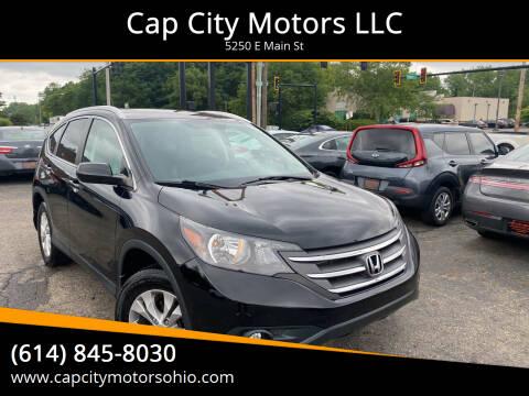 2014 Honda CR-V for sale at Cap City Motors LLC in Columbus OH