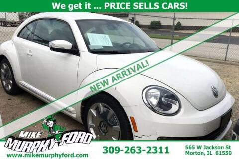 2012 Volkswagen Beetle for sale at Mike Murphy Ford in Morton IL