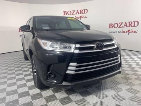 2019 Toyota Highlander for sale at BOZARD FORD in Saint Augustine FL