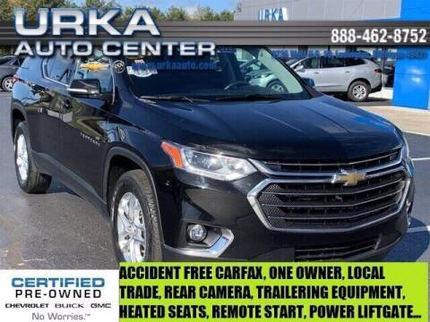 2018 Chevrolet Traverse for sale at Urka Auto Center in Ludington MI