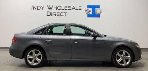 2013 Audi A4 for sale at Indy Wholesale Direct in Carmel IN