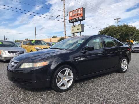 2004 Acura TL for sale at Autohaus of Greensboro in Greensboro NC