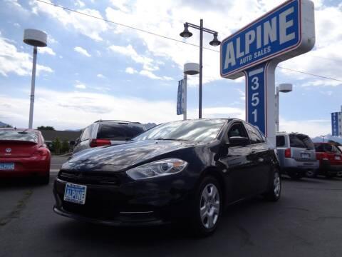 2015 Dodge Dart for sale at Alpine Auto Sales in Salt Lake City UT