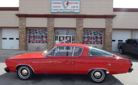 1966 Plymouth Barracuda for sale at Iconic Motors of Oklahoma City, LLC in Oklahoma City OK