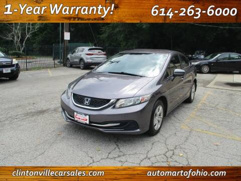 2015 Honda Civic for sale at Clintonville Car Sales in Columbus OH