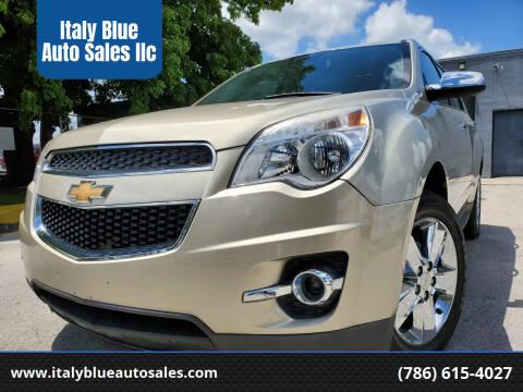 2015 Chevrolet Equinox for sale at Italy Blue Auto Sales llc in Miami FL