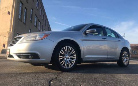 2012 Chrysler 200 for sale at Budget Auto Sales Inc. in Sheboygan WI